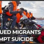 Rescued migrants attempt suicide on board Ocean Viking