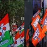 TMC Party Office in Kalyanpur got vandalized after the death of a BJP activist