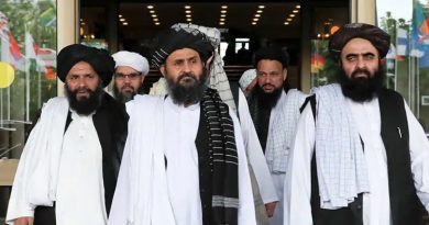 Mullah Mohammad Hasan Akhund the leader of the new Taliban government in Afghanistan