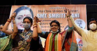 """Branding Priyanka Tibrewal outsider is insult to Marwari women"": Smriti Irani"
